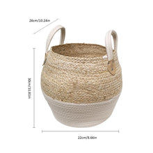 Load image into Gallery viewer, Seagrass Woven Basket