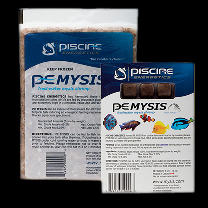PE Frozen Mysis Shrimp 4oz Cube