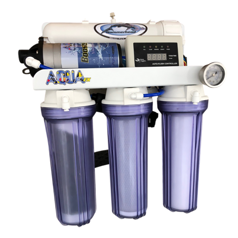 AquaFX Hammer Head Fully Automated RO/DI - 100 GPD