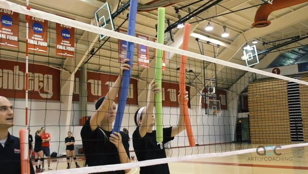 pool noodle volleyball