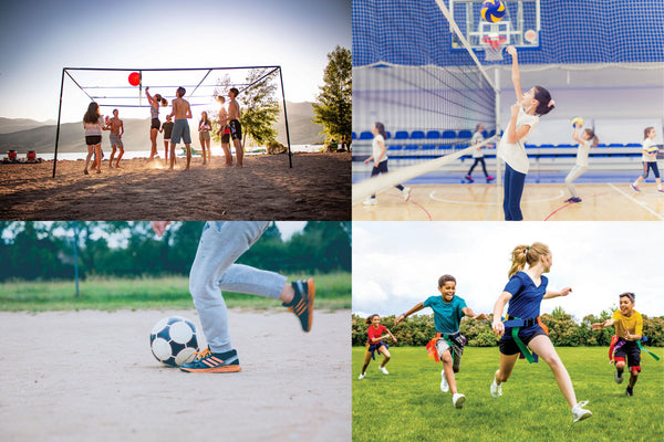 sport collage