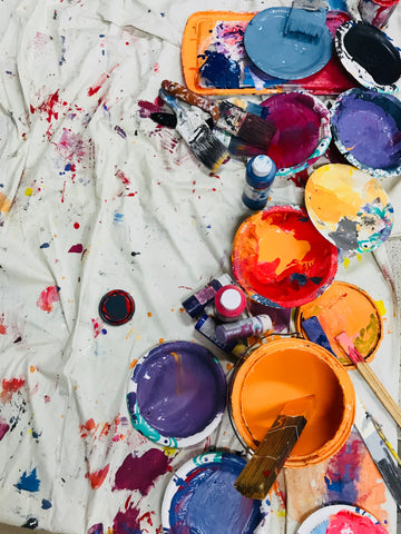 Scatter Painting