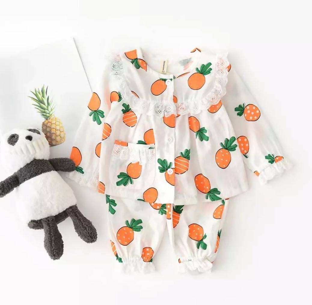 SLEEP IN STYLE - *WHITE&ORANGE*