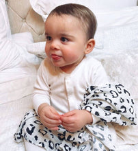 Load image into Gallery viewer, MamaCoco Grey Leopard Print Swaddle Muslins