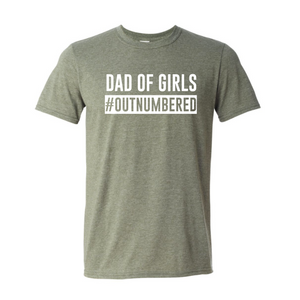 Dad of Girls Out Numbered