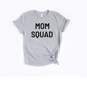 Mom Squad Black lettering