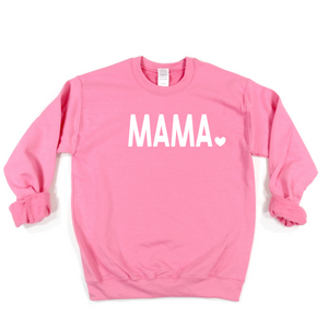 Pink Mama Heart Sweater