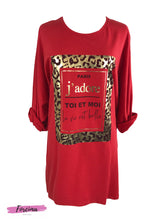 Load image into Gallery viewer, J'adore Plus Size Top - Red
