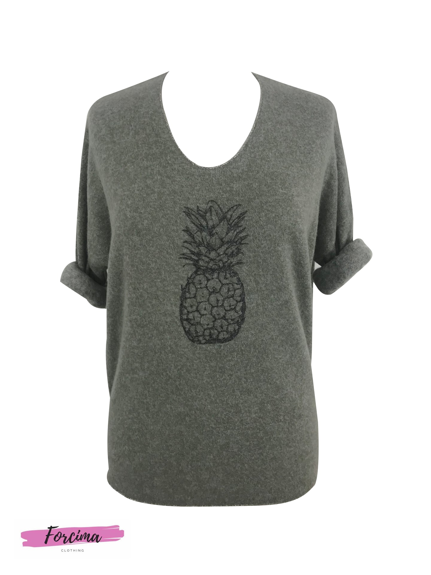 Brushed Pineapple Top