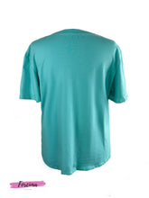 Load image into Gallery viewer, LOVE ME RED TAG  T-SHIRT - SEA GREEN