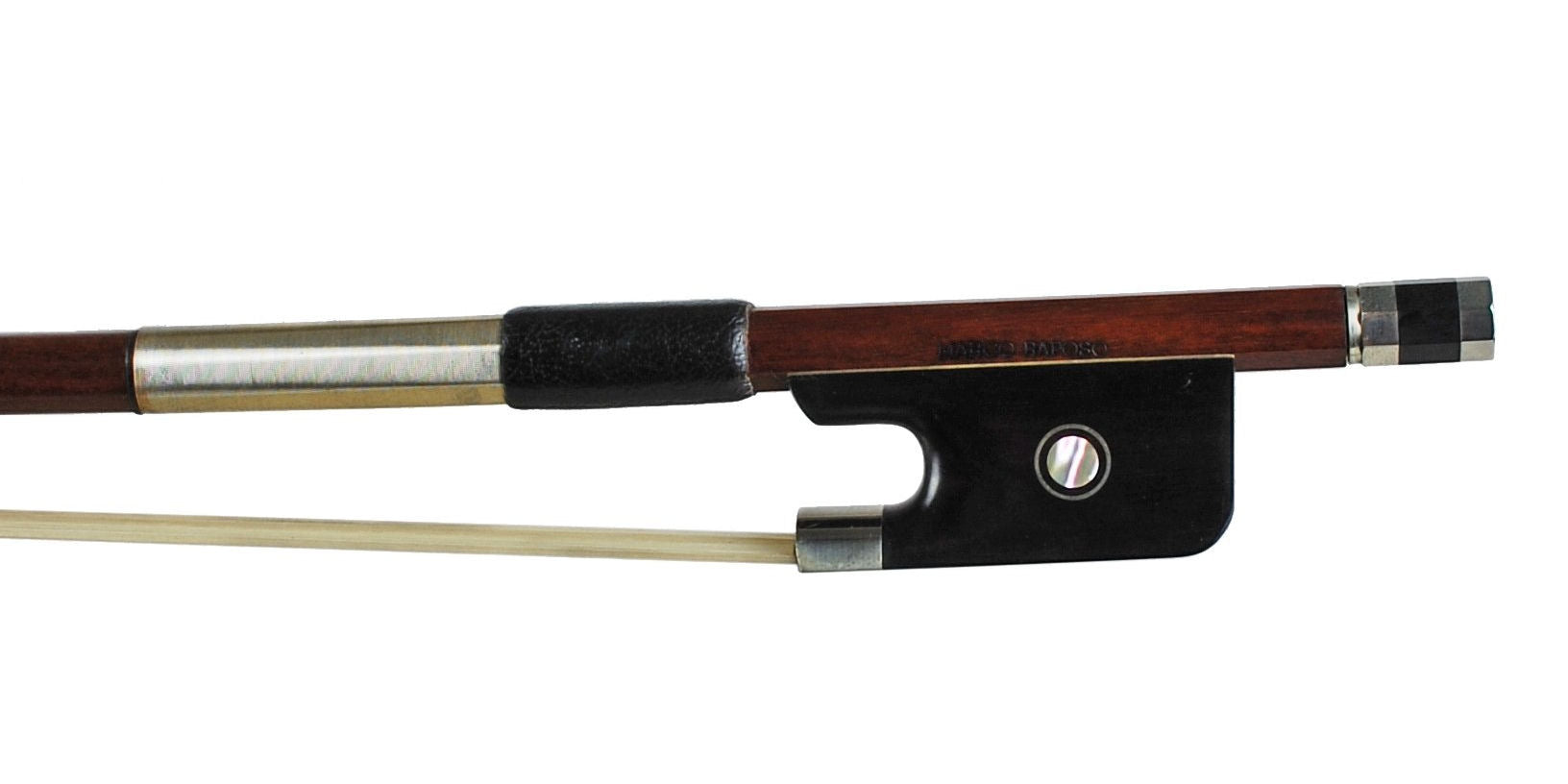 Marco Raposo Nickel Fitted Pernambuco Bow - CELLO
