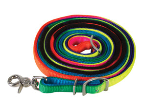 Rainbow Nylon Roping Reins