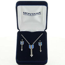 Load image into Gallery viewer, Montana Silver Opal Arrow Set