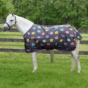Shires Donuts Turnout Blanket Lite  Mini/Horse