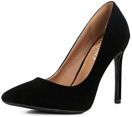 Stiletto Pumps Pointed Toe High Heel