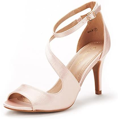 Women's Stilettos Open Toe Pump Heel Sandals.