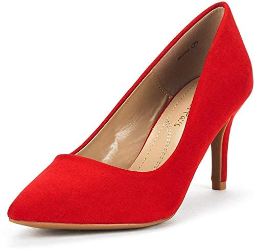 Women's Pointed Toe High Heel Dress Pumps Shoes