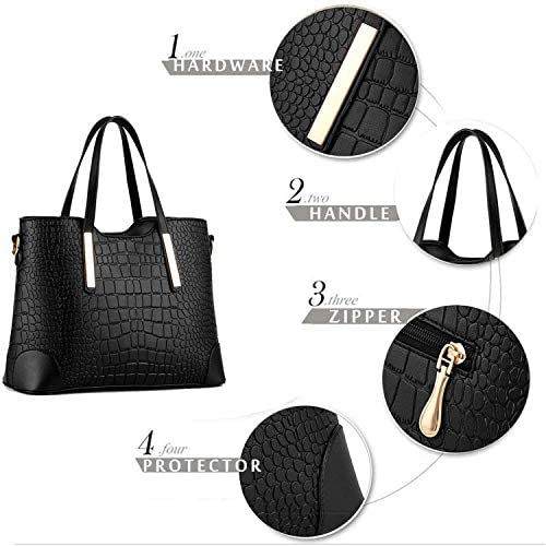 2in1  Women Shoulder Tote Bags Satchel Purses and wallets