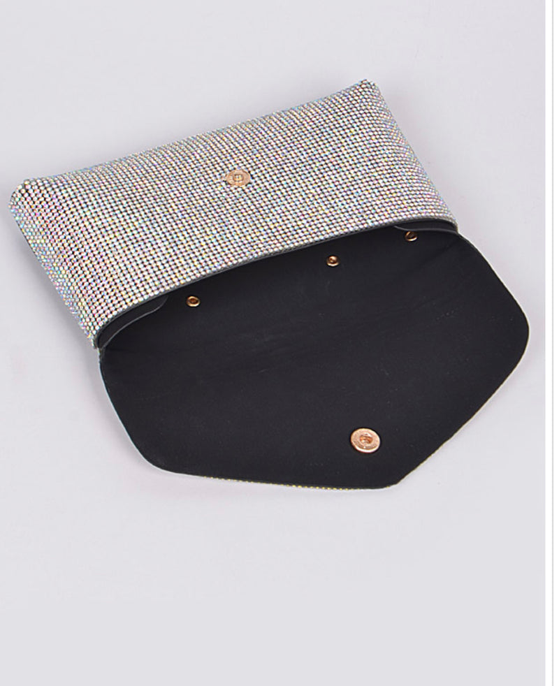 FASHION RHINESTONE SPARKLE BELT FANNY PACK