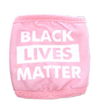 Black Lives Matter Graphic Printed Face Mask Unisex Adult Size