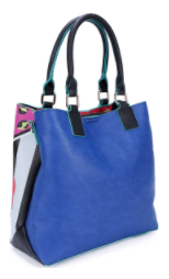 Nikky by Nicole Lee I HAVE A SECRET PRINT TOTE BAG WITH THICK ST