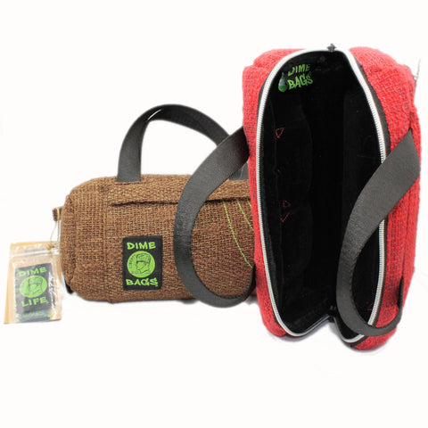 "Classic Hemp Duffle Tube 10"" by Dime Bags"