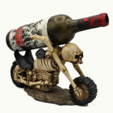 The Riding Dead Skull Wine Bottle Holder