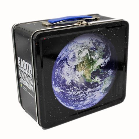 Earth Metal Lunch Box
