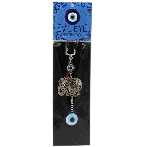 Evil Eye Protection Elephant Charm