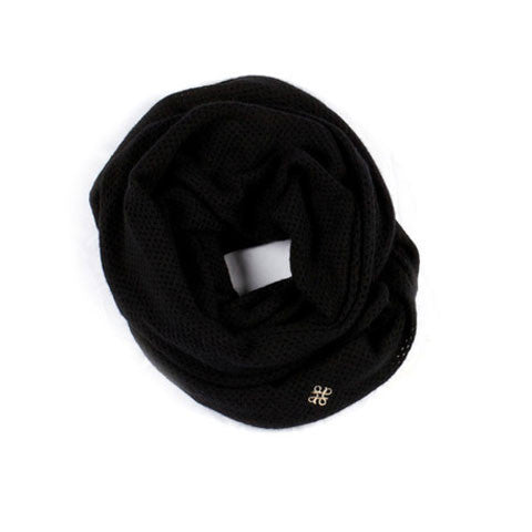 Charlotte Open Knit Infinity Scarf