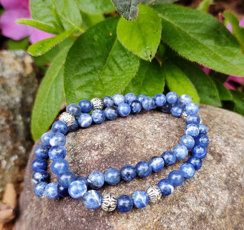 Sodalite Stacket set