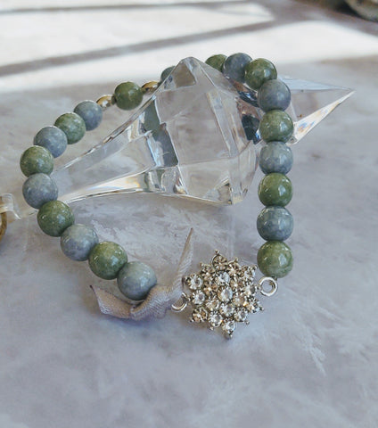 Blue-Green Bliss bracelet