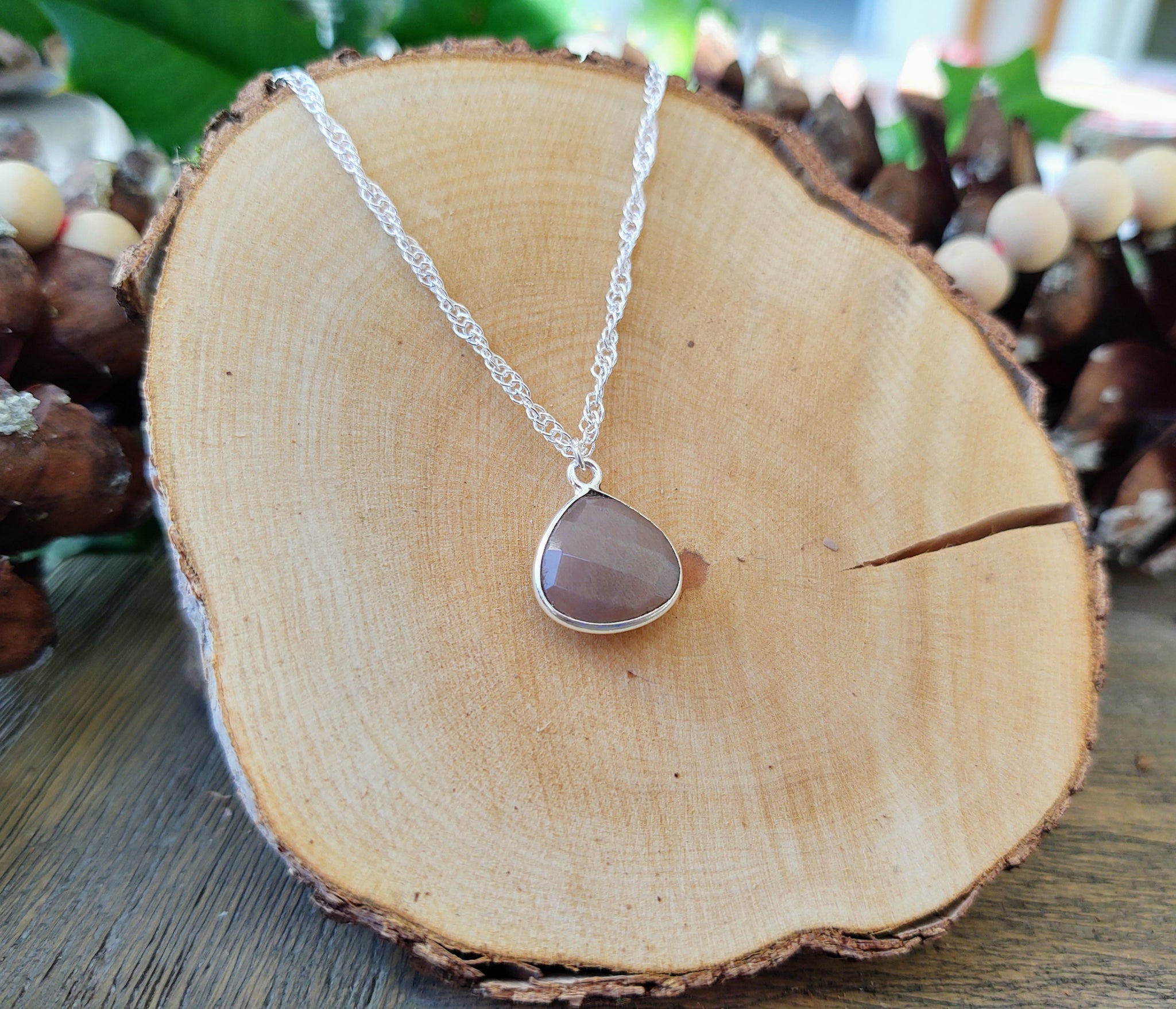 To Sparkle: Mystic Swiss Chocolate Moonstone