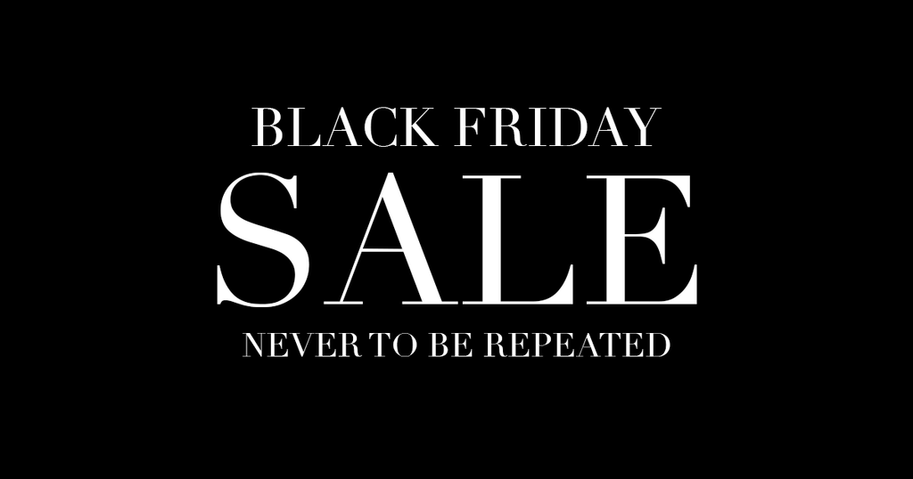Black Friday Sale (4 days only)
