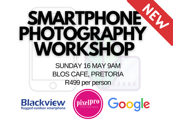 Smartphone Photography Workshop - 16 May 2021