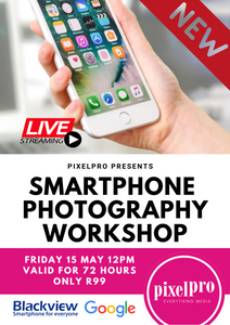 Smartphone Photography Workshop ONLINE - Pixel Pro Photography