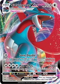 Salamence Vmax Ultra Rare Full Art 144/189