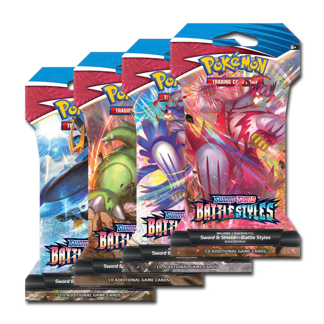 Battle Styles Sleeved Booster x4
