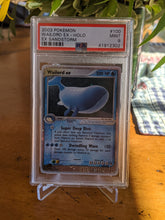 Load image into Gallery viewer, EX Sandstorm Wailord EX PSA 9