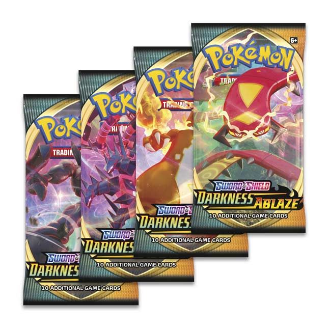 Sword & Shield Darkness Ablaze Booster Pack (Random Artwork)