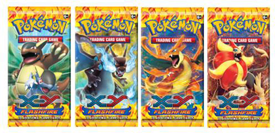 XY Flashfire Booster Pack (Randomly Selected)