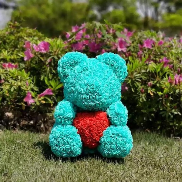 Tiffany Rose Bear (Red Heart)