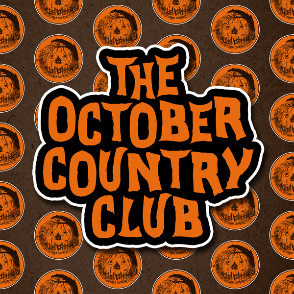 Welcome To The October County Sticker Combo Pack