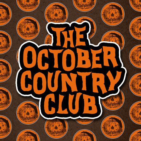 The October Country Club Sticker