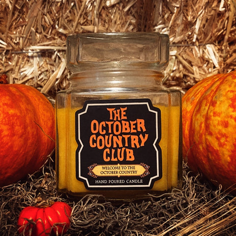 Welcome To The October Country Candle