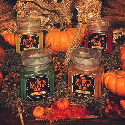 Welcome To The October Country Candle Collection Combo