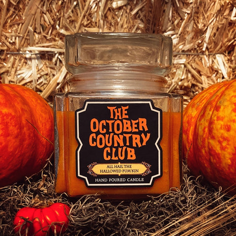 All Hail The Hallowed Pumpkin Candle