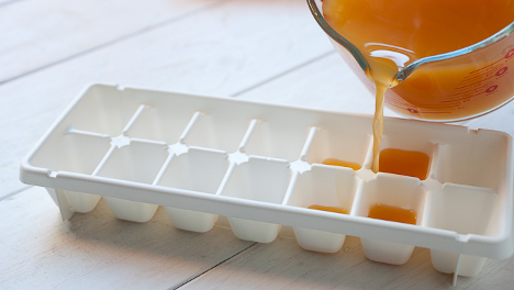 bone broth ice cube tray for frozen broth cubes