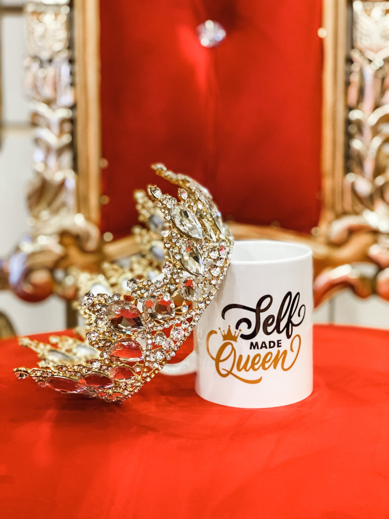 Self-Made Queen Mug