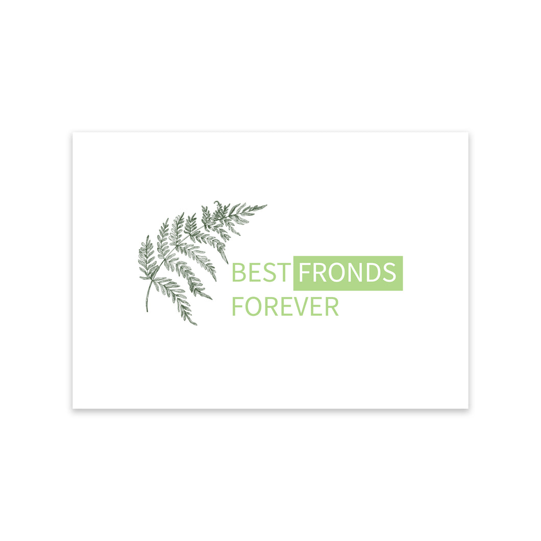 Notecard - Best Fronds Forever